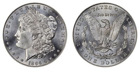 1894 s silver dollar 1894 s silver dollars value and prices