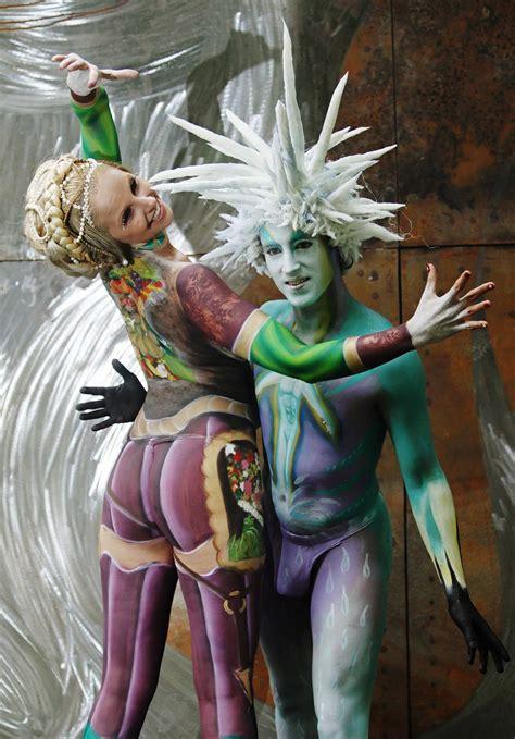 festival mundial de bodypainting en poertschach austria festival de painting en austria abc internacional