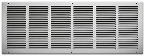 10 x 30 return floor register 30 x 10 sted steel return air grille white