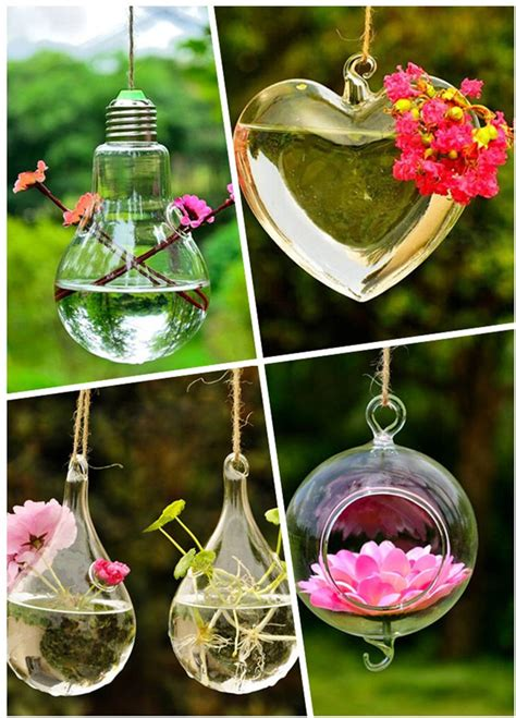 Garden Decoration Hanging unique and space saving hanging garden decorations how