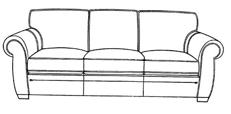 sofa drawing patent usd495158 sofa google patents