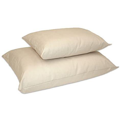 buy buckwheat pillows from bed bath beyond buy naturepedic 174 organic kapok cotton low fill standard