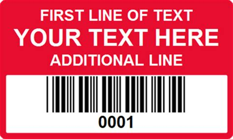 barcode label template 3 in x 5 in custom rectangle barcode labels