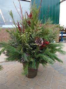 Decorated Cooking Urn by 17 Best Ideas About Christmas Planters On Pinterest