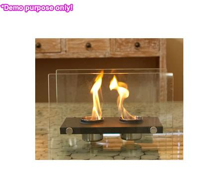 home expression eco friendly rectangle fireplace 2 pots