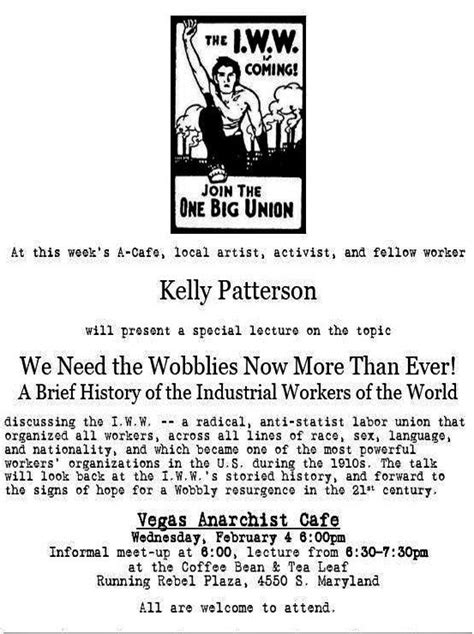 wobblies of the world a global history of the iww wildcat books rad s daily 2009 02 03 southern nevada ally