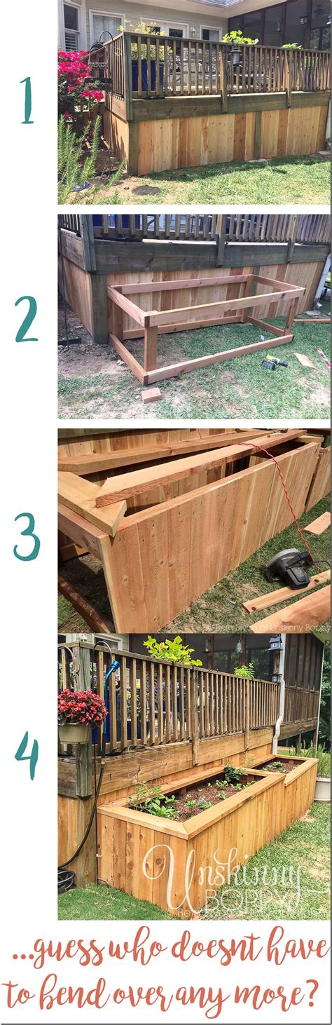 raised bed construction a backyard makeover with raised garden beds unskinny boppy