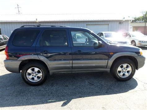 mazda tribute tires purchase used 2002 mazda tribute lx awd serviced new tires