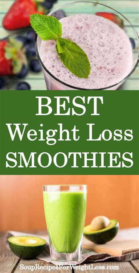 5 weight loss smoothies best weight loss smoothie recipes http