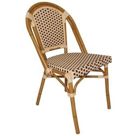 Chaises De Bar Ikea 442 by Bolero Continental Cf401 Bistro Wicker Sidechair Pack Of