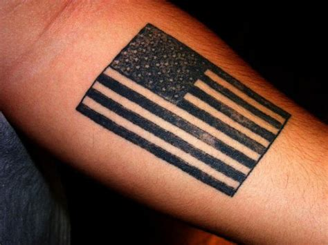 american flag wrist tattoo 50 best flag tattoos