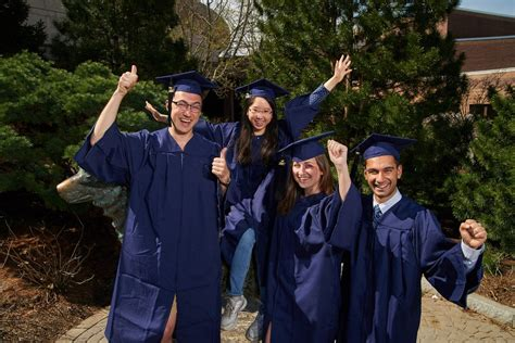 Chapamn Mba Applying For Graduation by Caps Gowns Changing From Black To Blue Uconn Today