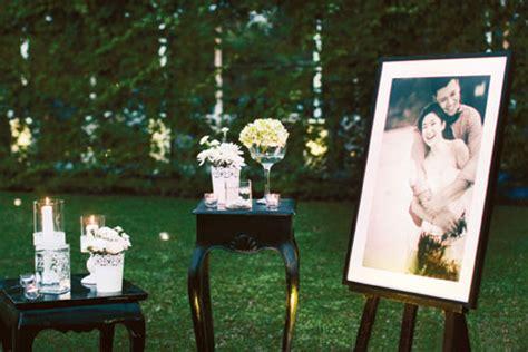 Jas Di Agus Lim intimate outdoor wedding theme by william kezia