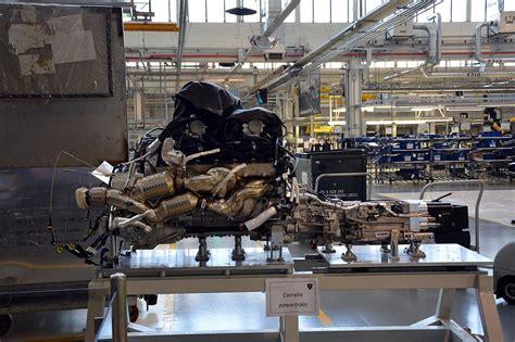 Lamborghini Aventador Drivetrain by Factory Visit To The Lamborghini Huracan Production Line