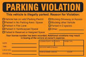 City Of Parking Tickets Parking Ticket