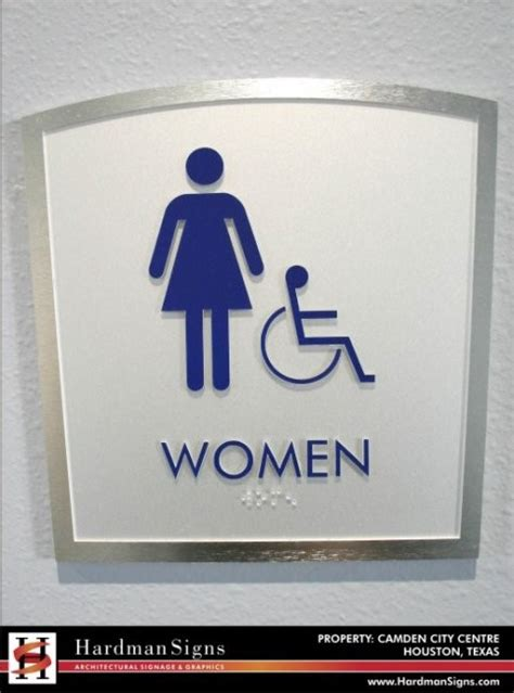ada bathroom sign ada signs ada signage restroom signs braille signs houston austin atlanta
