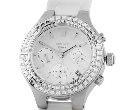 Dkny Dk03 White Silver catch au dkny s 38mm chambers multifunction