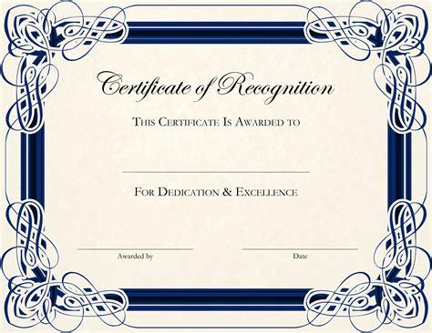 printable certificate templates design