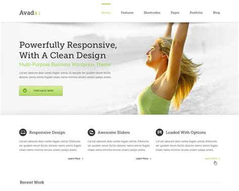 avada theme grid avada highly customizable wordpress theme themeshaker com