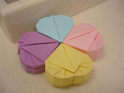 Origami Shaped Box - how to make a shaped box origami 28 images origami for