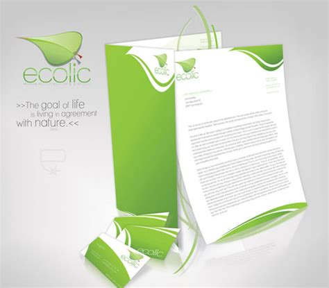 corporate identity design inspiration letterhead exles and ideas 60 cool stationary designs