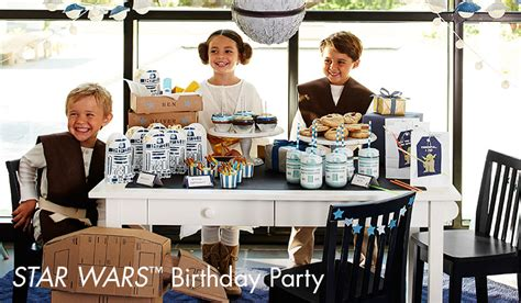 Barn Themed Party Ideas Star Wars Party Pottery Barn Kids