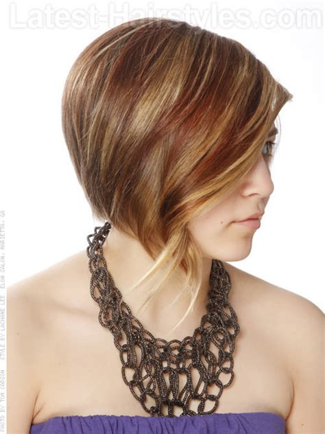 hair cut back of hair shorter than front of hair haircut short back long front all hair style for womens