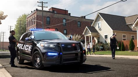 ford motor   ford police interceptor utility pursuit rated hybrid suv  vehicles