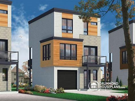 modern urban house plans w1701 contemporary 3 floor house design for narrow lot affordable urban design