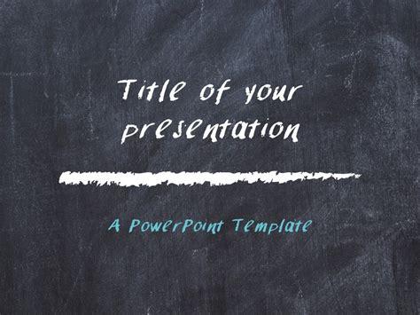Chalkboard Powerpoint Template Presentationgo Com Chalkboard Powerpoint Templates Free