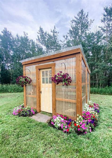 diy  lean  greenhouse building guide backyard