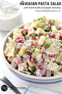 cold salad recipes hawaiian pasta salad recipe cold pasta pasta salad and homemade dressing