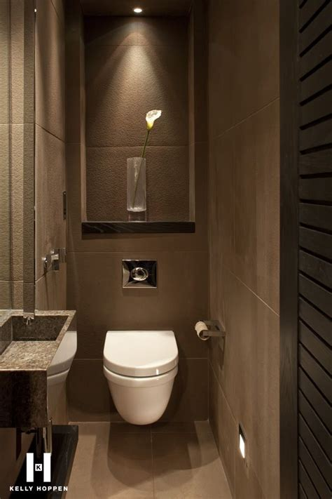 difference between bathroom and toilet the colors make a difference brown walls kelly hoppen