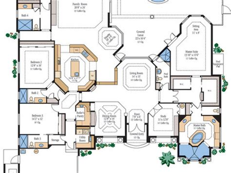 home floor plans with secret rooms