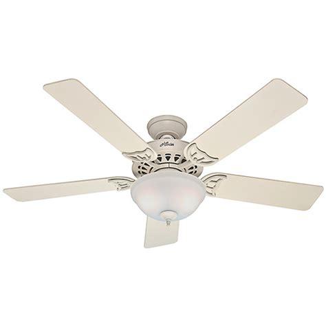 hunter windemere ceiling fan windemere brushed nickel two light 54 inch ceiling fan
