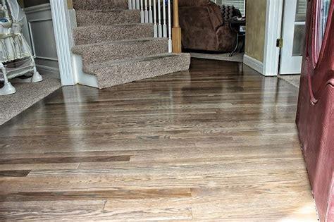 Grey Hardwood Floor   RippnFinish Hardwood Floor Refinishing