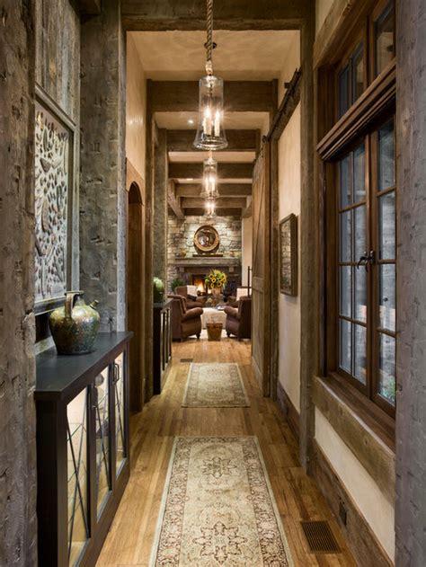 rustic hallway ideas pictures remodel  decor