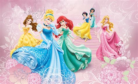 Adhesive Wallpaper by Princess Room Disney Wallpaper Murals Homewallmurals Co Uk