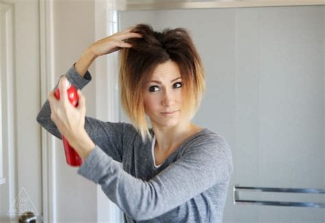 Styling an Angled Bob: Easy Everyday Tutorial   ONE little