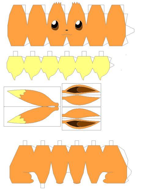 Eevee Papercraft - eevee papercraft gallery