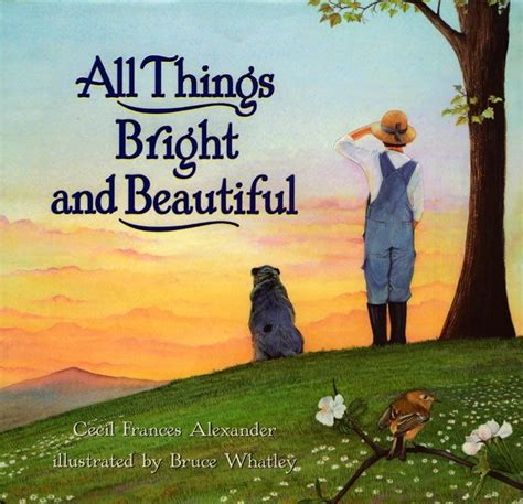 all things bright and strange books all things bright and beautiful cecil frances