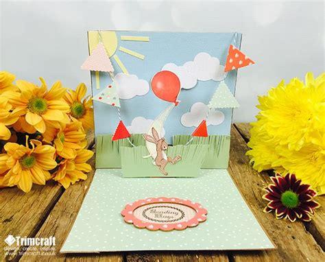 Handmade Pop Up Cards Tutorials - 3 handmade pop up card tutorials with free printable