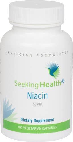 B12 And Niacin Detox by Niacin 50 Mg 100 Vegetarian Capsules Seeking Health