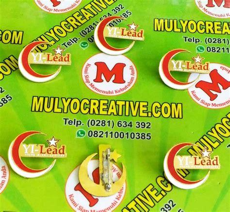 Lencana Pin Timbul lencana pin desain terbaru 2018 mulyocreative updated