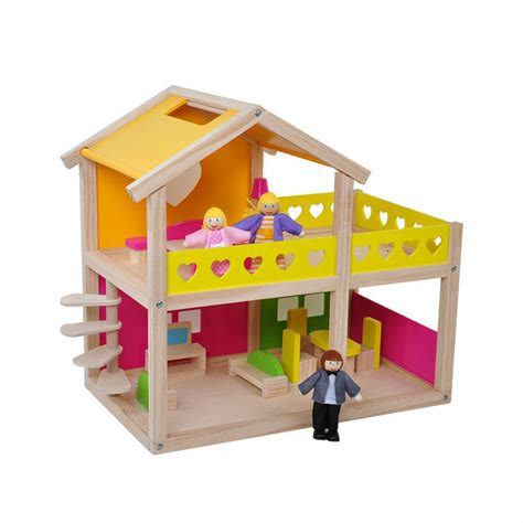 preschool doll house multifunction preschool mini furniture for doll house