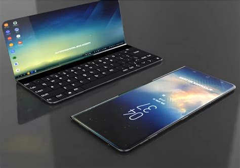 x samsung mobile samsung galaxy x concept gets inspired by microsoft s surface phone notebookcheck net news