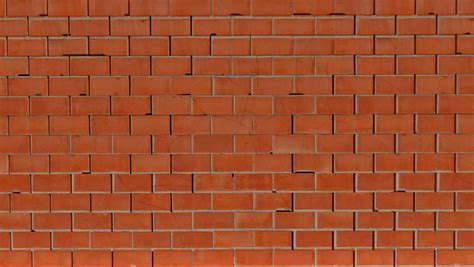 breaking red brick wall stock footage video