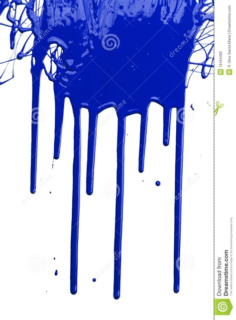 blue paint stock photography image 16164482