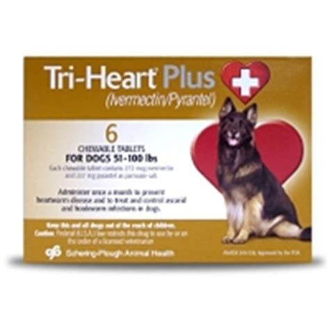 tri plus for dogs tri plus for dogs 51 100 lbs 6 pack brown vetdepot