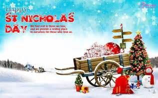nicholas day wishes quotes and sayings with card and wallpapers pictures new year